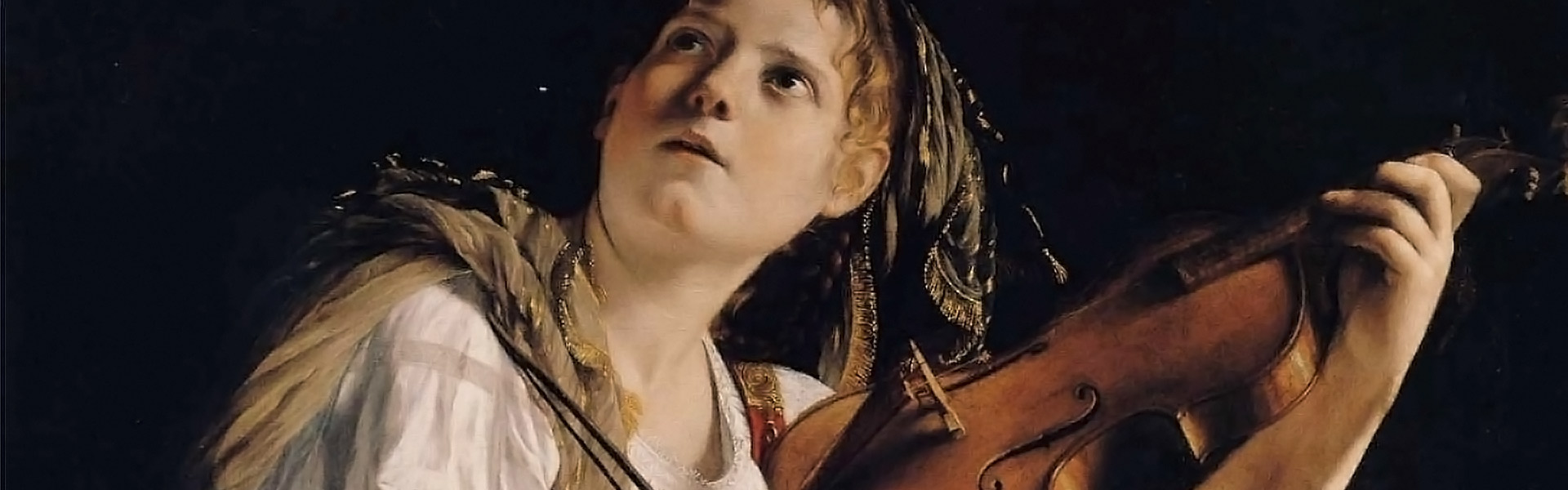 Woman-and-violin